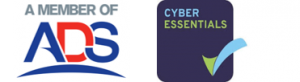ADS and Cyber Essentials logos