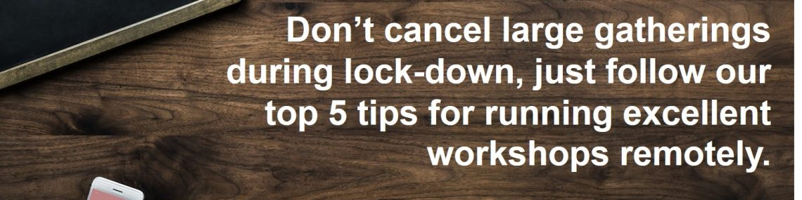 #5toptips for online workshops