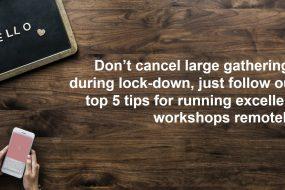 Facilitating online workshops